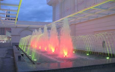 Đài phun nước nghệ thuật tại Golden Phoenix