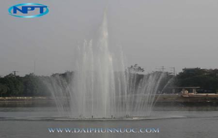 Công trình tại hồ Tân Lập Tuyên Quang