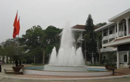 Đài phun nước tại Tỉnh Ủy  Tuyên Quang