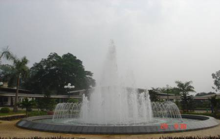 Đài phun nước tại Công Ty Giấy Bãi Bằng