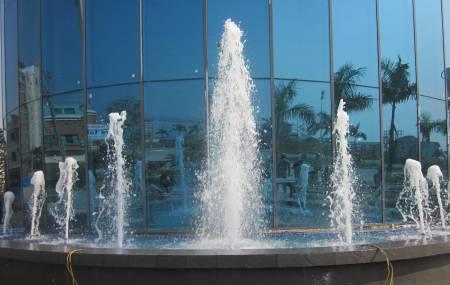 Đài phun nước nghệ thuật tại Khách Sạn Palace  -Bãi Cháy -Hạ Long