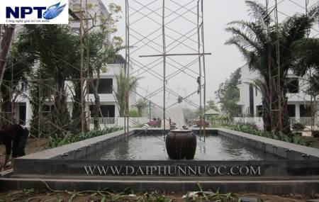 Công trình đài phun nước tại khu đô thị Việt Hưng -  Hà Nội
