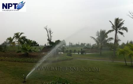 Công trình tưới cỏ tự động tại sân Golf Đồ Sơn - Hải Phòng