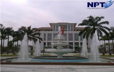 Đài phun nước tại UBND tỉnh Quảng Nam