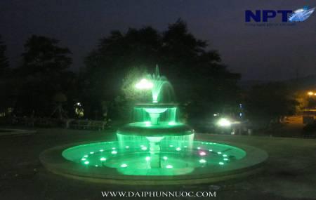 Đài phun nước tại tỉnh uỷ Điện Biên - TP Điện Biên