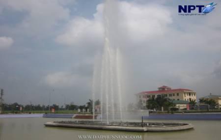 Đài phun nước tại UBND huyện Yên Phong - Bắc Ninh