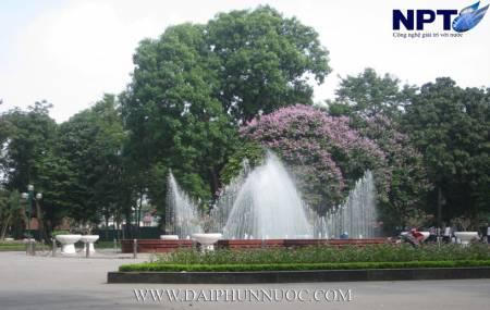 Đài phun nước tại công viên Thống Nhất - Hà Nội
