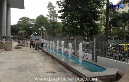Đài phun nước tại Nhà làm việc Quốc Hội - Ba Đình - Hà Nội