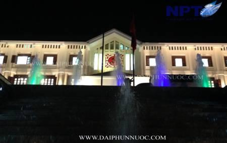 Đài phun nước tại UBND thành phố Hòa Bình - tỉnh Hòa Bình