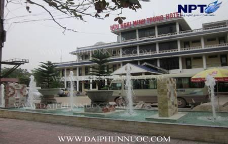 Đài phun nước tại khách sạn Hữu Nghị Minh Trung  -  TP. Bắc Giang