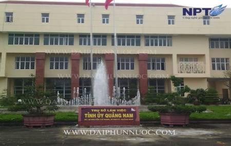 Đài phun nước tại  tỉnh Ủy - Quảng Nam