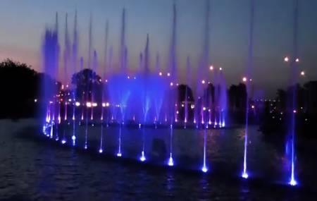 Nhạc nước - đài phun nước Multimedia Fountain Park