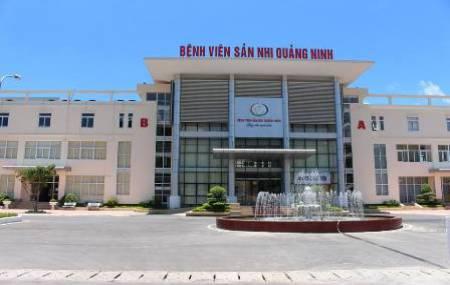 Công trinh đài phun nước tại Bệnh Viện Sản Nhi - Quảng Ninh