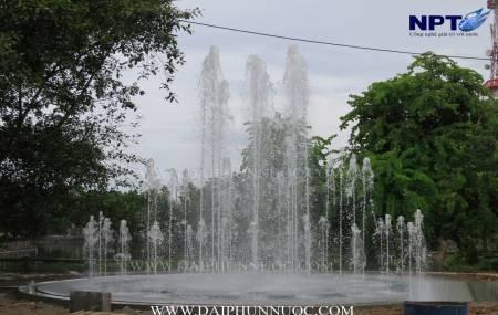 Công trinh đài phun nước tại Tượng Đài - TP Tuyên Quang