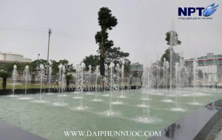 Công trinh đài phun nước  tại trụ sở tập đoàn Hải Linh - Việt Trì Phú Thọ