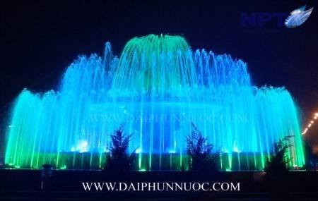 Công trinh đài phun nước tại vòng xuyến giao thông - Gia Bình - Bắc Ninh