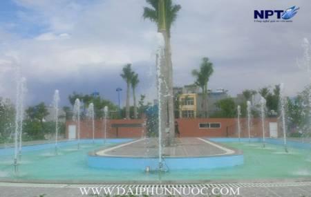 Đài phun nước tại Công Viên Thể Thao - TP.Thái Bình