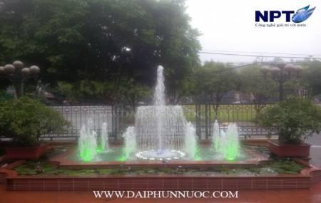 Đài phun nước tại ngân hàng AgriBank - Bát Xát - Lào Cai