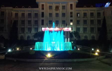 Đài phun nước tại UBND Tỉnh Bắc Giang
