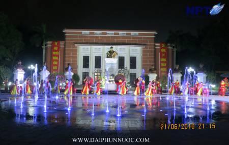 Công trình nhạc nuớc tại Học Viện An Ninh - Hà Nội