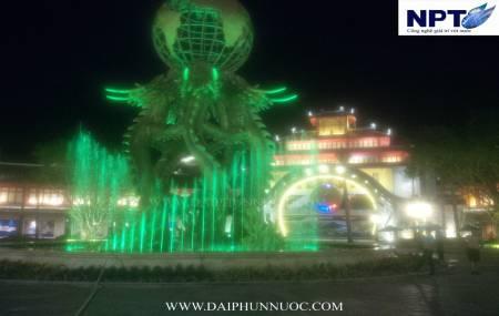 Công trình Nhạc Nước tại công viên Đại Dương - Hạ Long  Park - Sun Group