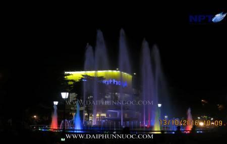 Đài phun nước tại Xuân Hòa - Phúc yên - Vĩnh Phúc