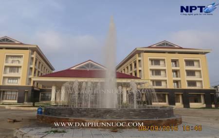 Đài phun nước tại Nhà Điều Dưỡng Nguời Có Công - Tỉnh Bắc Giang