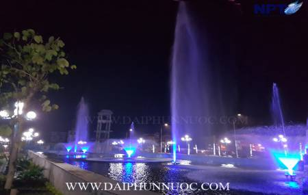 Công trình đài phun nước tại khu đô thị mới Lương Sơn - Hòa Bình