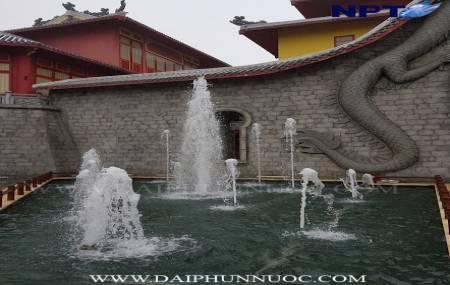 Công trình đài phun nước tại công viên Đại Dương - Hạ Long Park - Giai đoạn 2