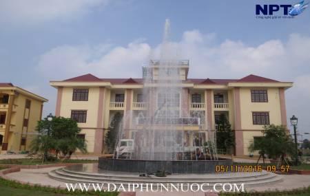 Công trình đài phun nước tại Bộ chỉ huy Quân Sự huyện Tiên Du - Bắc Ninh