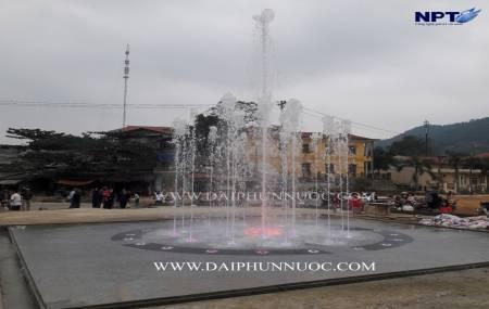 Công trình đài phun nước bể cạn - Dry fountains tại Chiêm Hóa - Tuyên  quang
