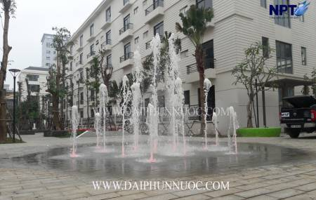 Đài phun nước tại khu đô thị Padora - 53 Triều Khúc - Hà Nội