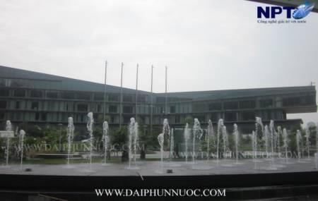Đài phun nước tại khách sạn Marriot - Hà Nội