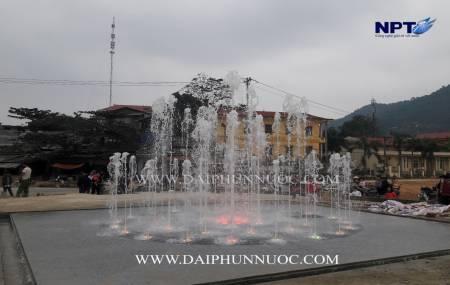Công trình đài phun nước tại Chiêm Hóa - Tuyên Quang
