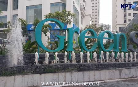 Đài phun nước Ngôi Sao An Bình Green Star - Thành phố Giao Lưu - Hà Nội