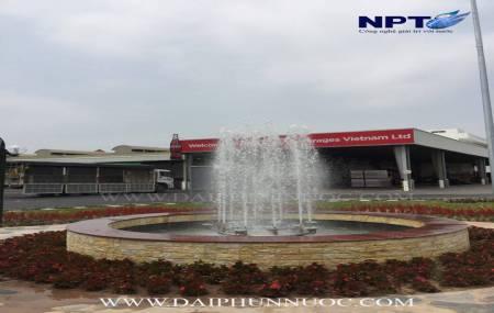Đài phun nước tại Nhà máy Cocacola - Ngọc Hồi - Hà Nội
