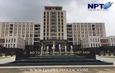 Đài phun nước tại Bộ Tư Lệnh Cảnh Sát Biển Việt Nam