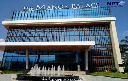 Đài phun nước tại The Manor - Bitexco - Lào Cai
