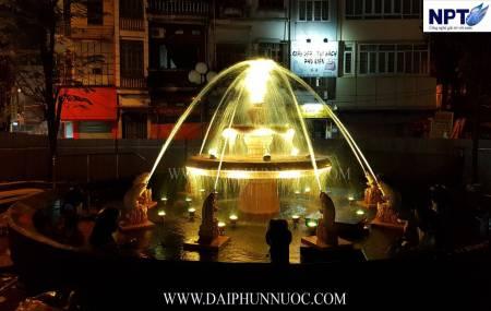 Đài phun nuớc tại Chợ Nhớn - Thành Phố Bắc Ninh