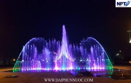 Nhạc nước cạn tại Quảng trường Việt Yên - Bắc Giang
