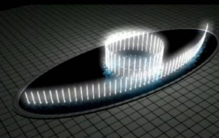 Mô hình nhạc nước - hình Elíp