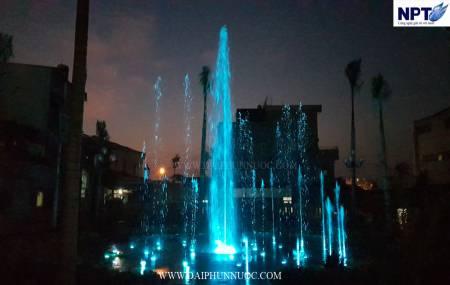 Đài phun nước tại cạn tại công viên Bình Sơn - Quảng Ngãi