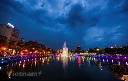 Đài phun nước phố đi bộ Trịnh Công Sơn - Ngày khai trương