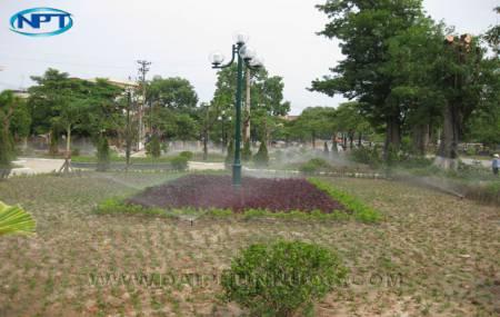 Hệ thống tưới cỏ vườn hoa trung tâm TP Vĩnh Yên  Vĩnh Phúc